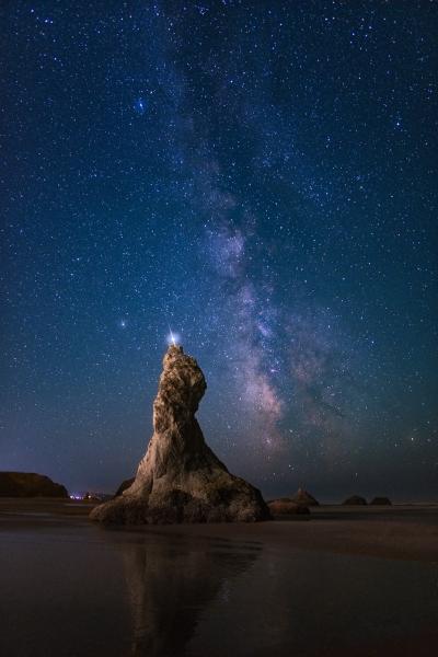 Wizards Hat Milky Way