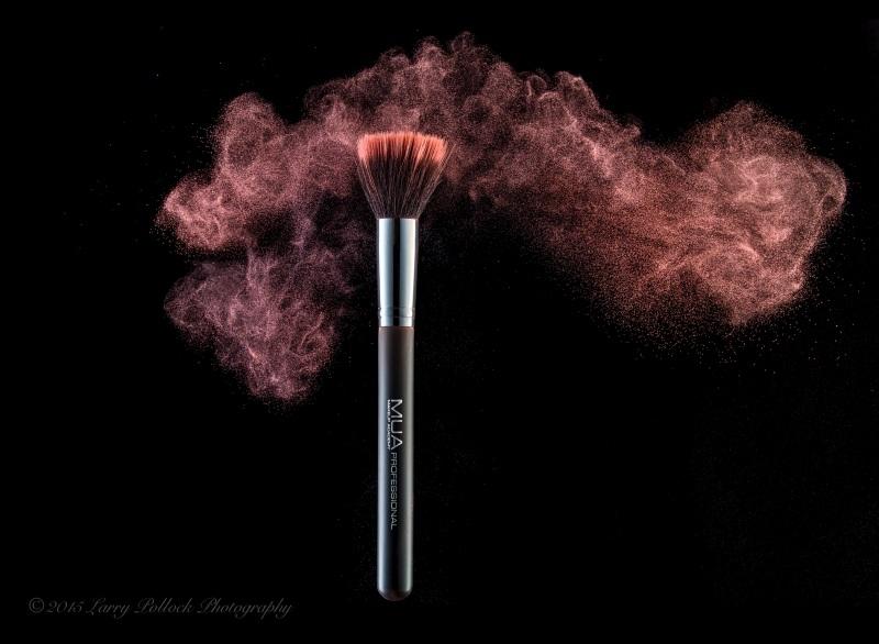 MUA Brushes Flying Powder