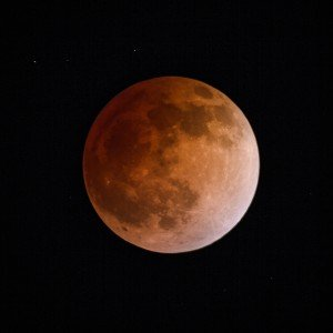 Full Eclipse Blood Moon 2014