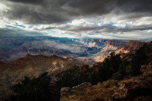 Grand Canyon from the Desert View Watchtower