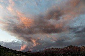 Slide Fire Sedona Sunset Image