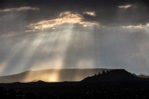 God Rays Sedona Arizona