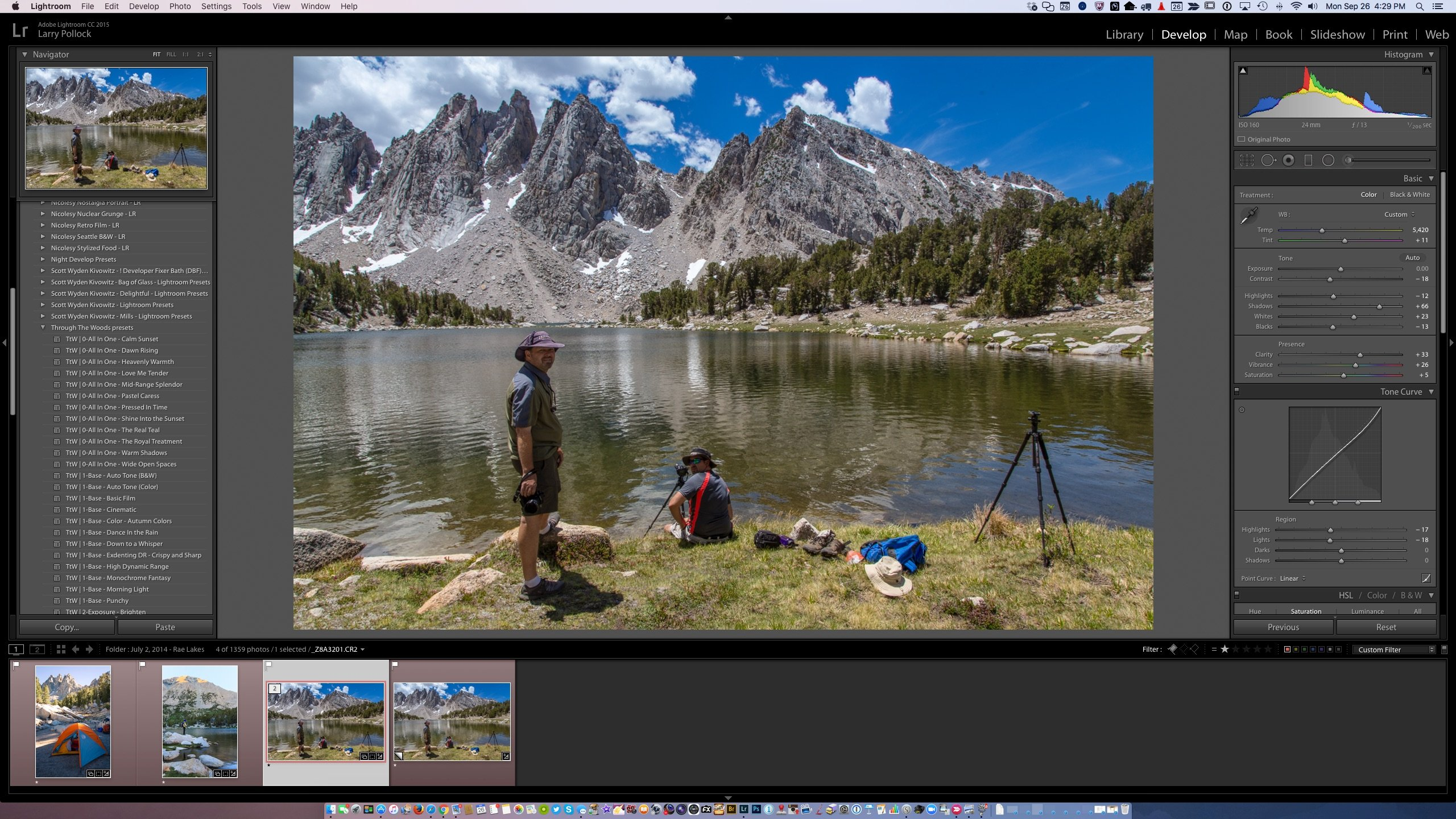 Speed Your Workflow in Lightroom with Presets