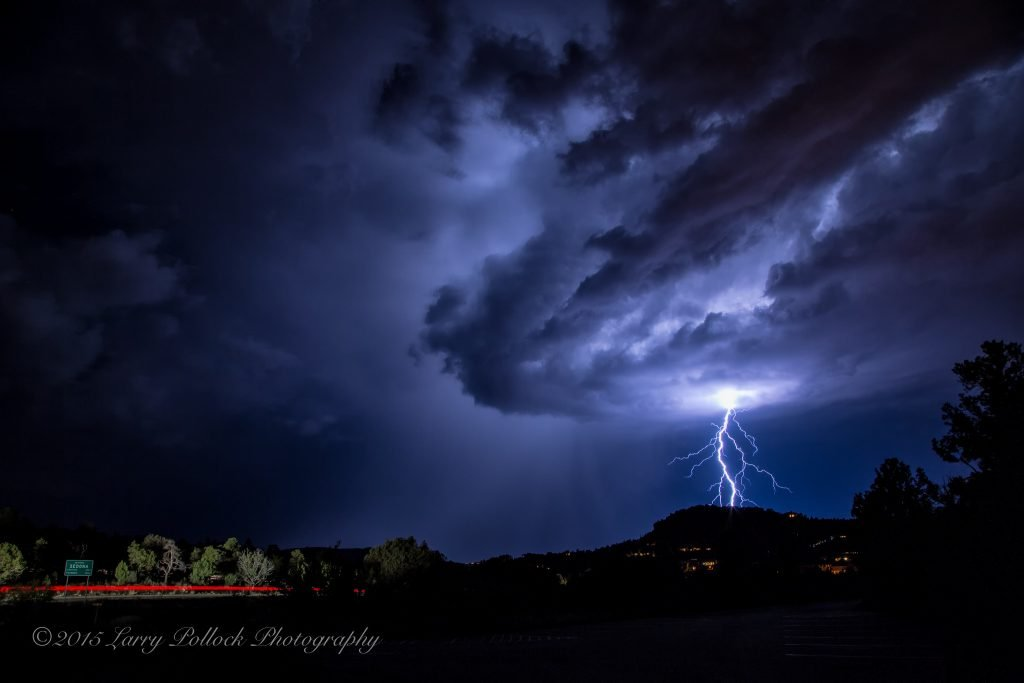 Thor Arrives in Sedona