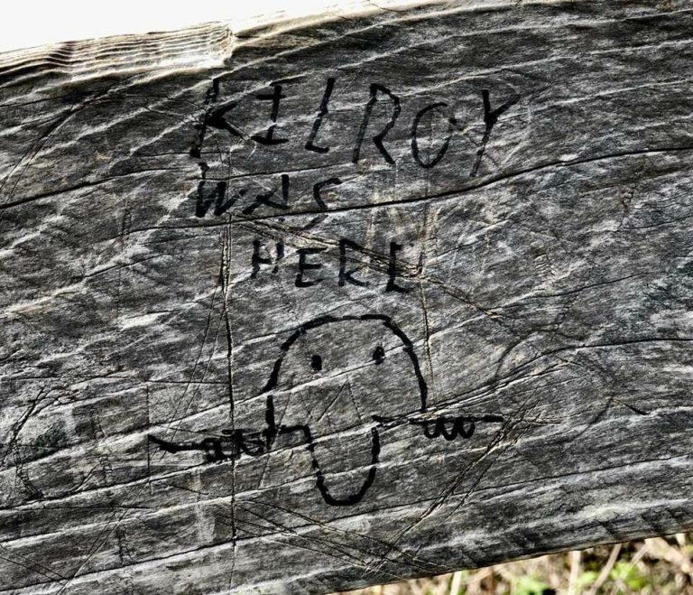 Graffiti, Tagging and Sam Loves Sue