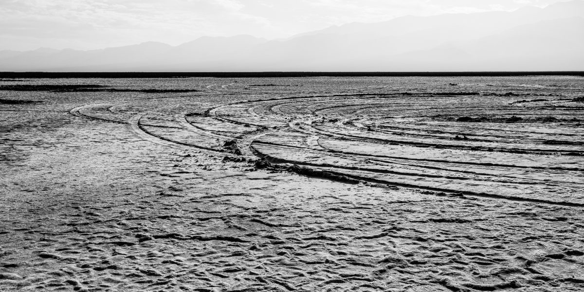 Death Valley Off Road Tire Damage to Badwater Basin